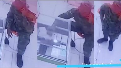 Photo of Guy Captured By CCTV Stealing iPhone 11 Pro at a phone shop – Video