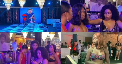 King Shatta Wale's Birthday - #Shattabration party (Watch Video)