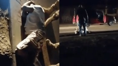 Photo of Wife's Boyfriend Shot By Husband Live In Front Of Police – Watch Video