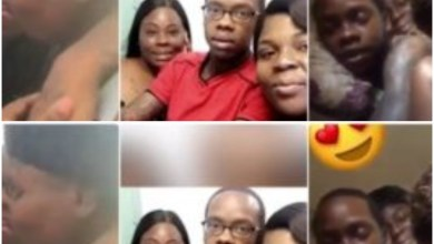 Photo of Guy Publicly Flaunts His 2 Galfriends With A Deep Kiss – Video