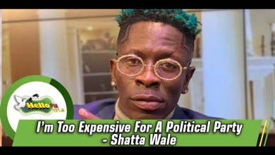 Photo of Shatta Wale – I'm Too Expensive For Any Political Party – Video
