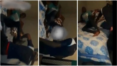 Photo of Boy Beaten To The Core After He Was Seen Red Handed In Bed With A Someone's Wife – Video