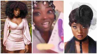 Photo of Efya In A Happy Mood Displays her new se.£.x Toyy – Video