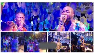 Photo of Moments When Davido x Stonebwoy Performs @ De Activate Party – Video