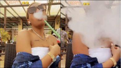 Regina Daniels Seen Smoking In Public N It Goes Viral - Video