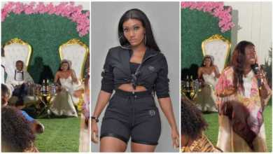 Photo of Wendy Shay's White Wedding Hits Online – Check Video Below