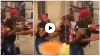 Photo of Young Slay Mama Beaten Rough Rough 4 L£aking colleagues' b£droom videos – Watch