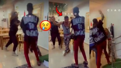Photo of Fraud Boy Beaten To The Bone 4 Paying With Fake Momo Transfer At A Restaurant – Video
