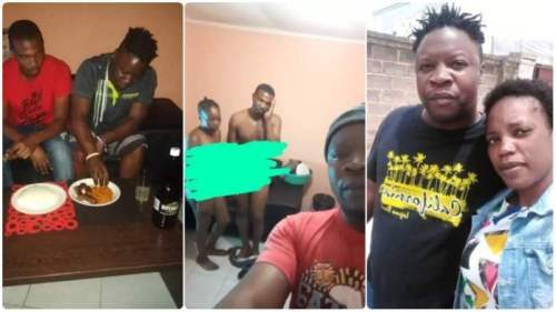 Guy Takes Selfie With His Cheating Wife N Best Friend 4 In-Laws To See - Watch