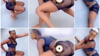 Photo of Lady Tw3rks Till She Fell Asleep – Video