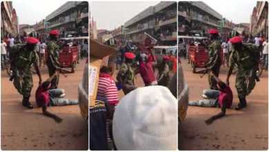 Military Beat Young Man Like A Dog - Watch Video N See The Reason