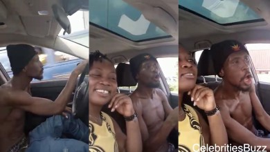 Okomfour Kwadee Is Out From Rehab N Was Seen Driving In Town With His Girlfriend - Video