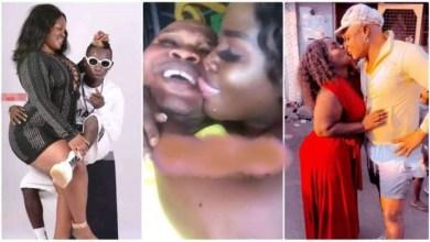Photo of Queen Peezy, Patapaa's ex Girlfriend Kisses Bukom Banku in latest video – Video