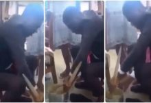 Photo of UCC Student Run Away From Lectures To Prepare Konkonte 4 Girlfriend, Felica Addy – Watch
