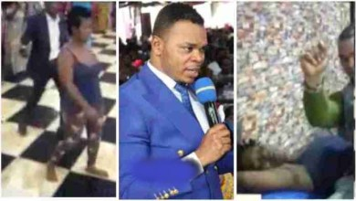 Photo of Bishop Obinim Removes Bullet 4RM De Head Of A Lady Shot N Dying – Video Below