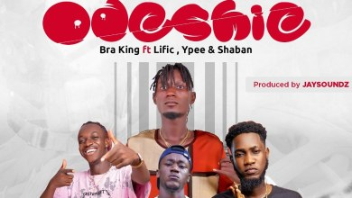 Photo of Bra King Ft Ypee x Lific x Shaban – ODESHIE (Prod By Jaysounds)