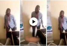 "Photo of Government Worker Who Threatens Suicide"" Over Unpaid Salaries Trends – Video Below"
