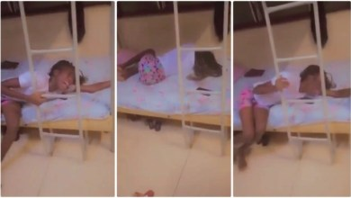 Lady In Tears Vomits Her Intestines Out After Guy Dumped Her - Video Is So Sad