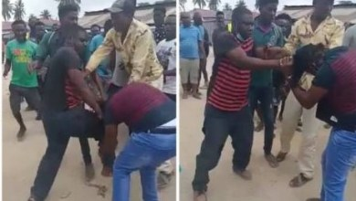Photo of Upcoming Artist Busted With A Married Lady, Husband Reacted By Beaten Him – Video Below