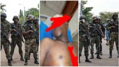 Photo of Airforce Soldier Stab By Naval Officer After Seeing Him In Bed With His Wife – Watch