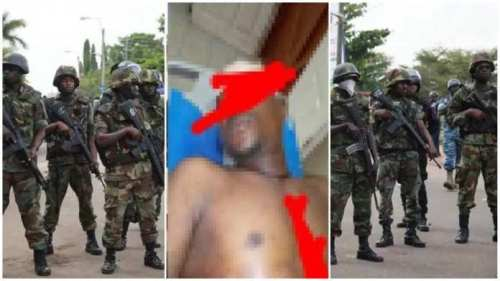 Airforce Soldier Stab By Naval Officer After Seeing Him In Bed With His Wife - Watch