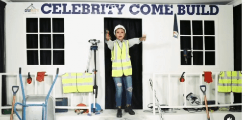 Akuapem Poloo Contests In 'Nigeria's Celebrity Come Build Reality TV Show' - Video Below