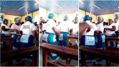 Hot Ladies With Amazing Big Backside Dance During Praise N Worship In Church - Video Below