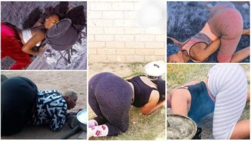 SA Girls Releases Sugar On Twitter With Vuthela Challenge As Men Begs For More - Watch