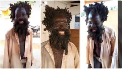 Trending Madman Mona moblɛ Demands 200 Cedis Before He Grants Interview - Video Below