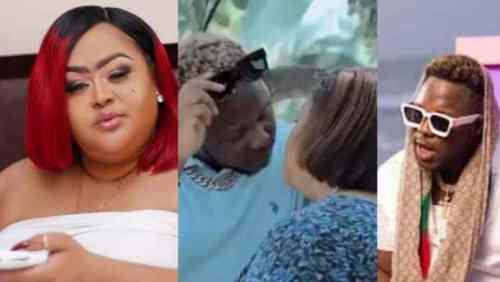 How Medikal Kiss Vivian Jill Will Shock You - Video