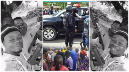 Motor Riders Holding Guns Pop Up Online After Bullion Van Robbery, Ɔbiaa Ɛndwane - Video