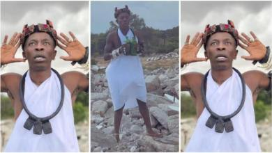 Photo of Video N Photos Of Shatta Wale Performing Mad Rituals Trends – Watch