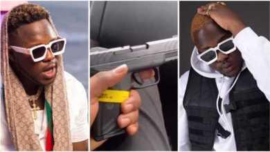 AMG Medikal Arrested 4 Brandishing A Gun On Social Media - Watch