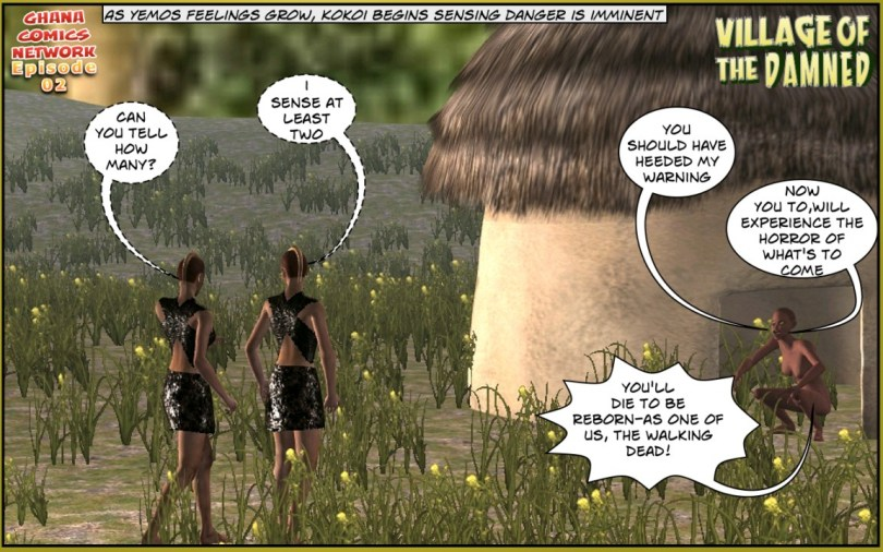 Tribal Rangers ghana comics episode 02-06