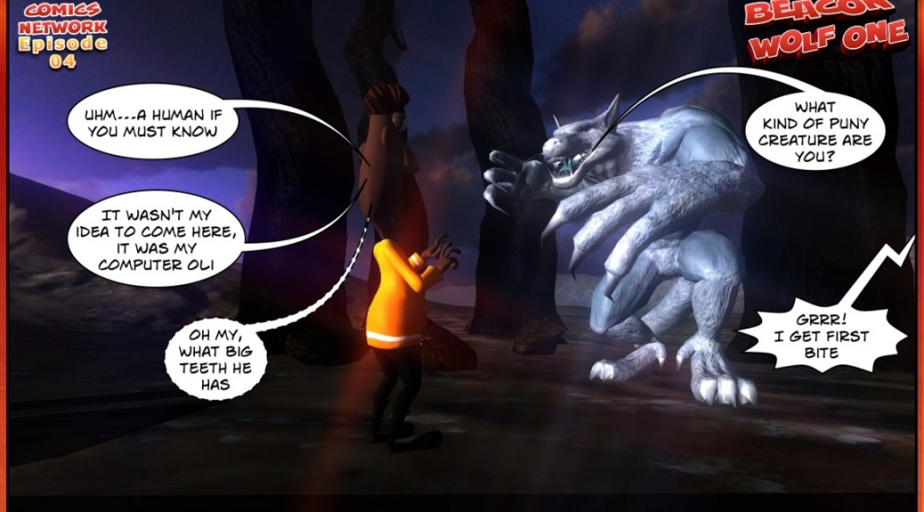 ANANSI PROJECT ghana comics Beacon Wolf One Episode 04-05