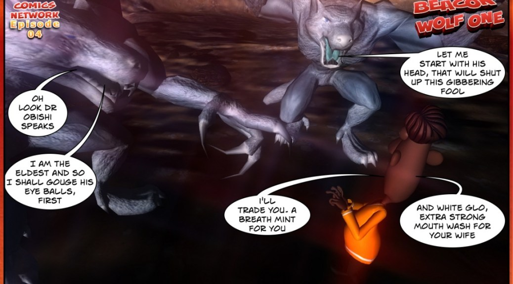 ANANSI PROJECT ghana comics Beacon Wolf One Episode 04-07