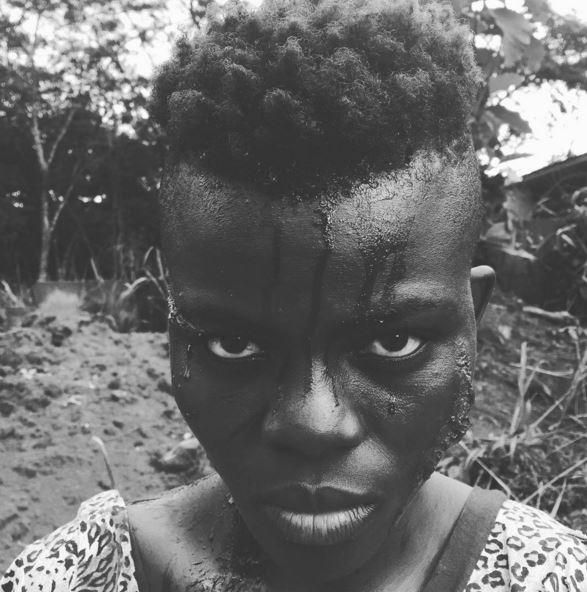 no mans land ghana movie Wiyaala makeup 1