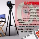 Casting Call: Acting Auditions For a New TV and Web Series In The Oil City