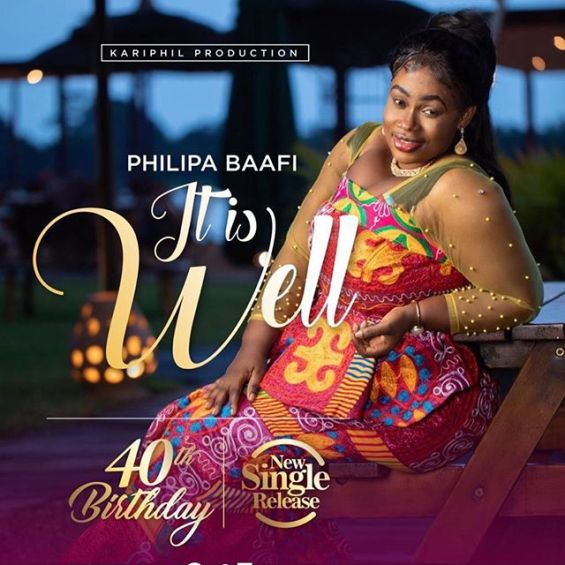 Philipa Baafi – It Is Well