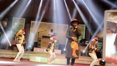 Falz performing at Ghana Meets Naija 2017
