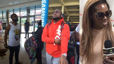 Photo of Davido, Falz & Tiwa Savage arrive for Ghana Meets Naija 2017