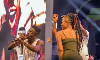 Shatta Wale & Shatta Michy perform 'Low Tempo'