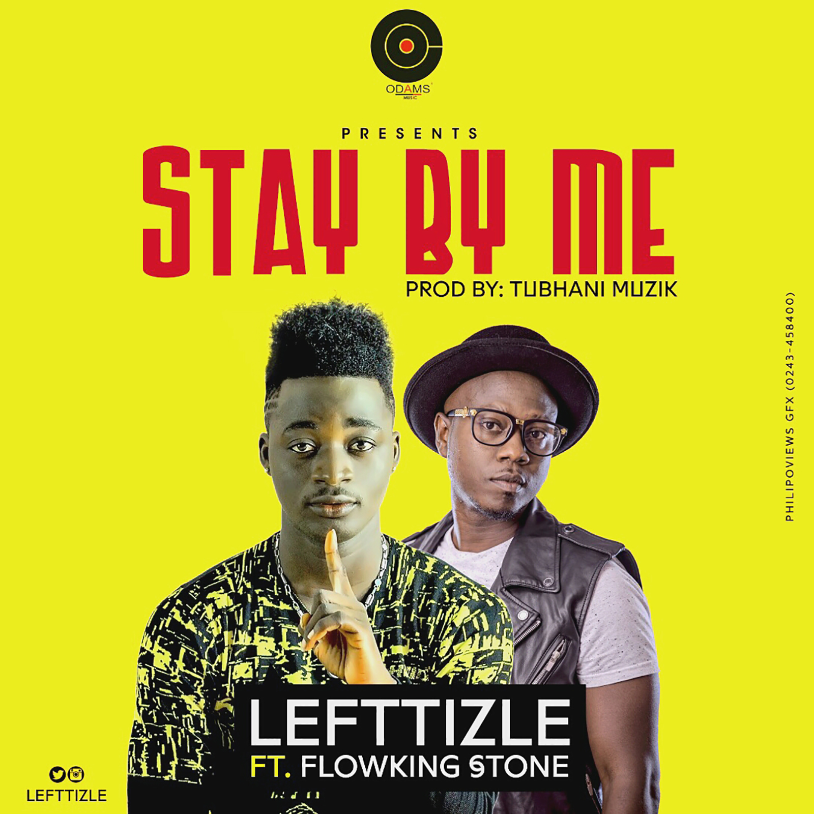 Stay By Me by Lefttizle feat. Flowking Stone