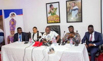 The Zylofon Media team with Joyce Blessing & Obibini