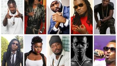 GH Dancehall artistes