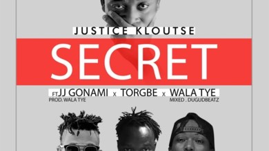 Photo of Audio: Secret by Justice Kloutse feat. JJ Gonami, Torgbe & Wala Tye