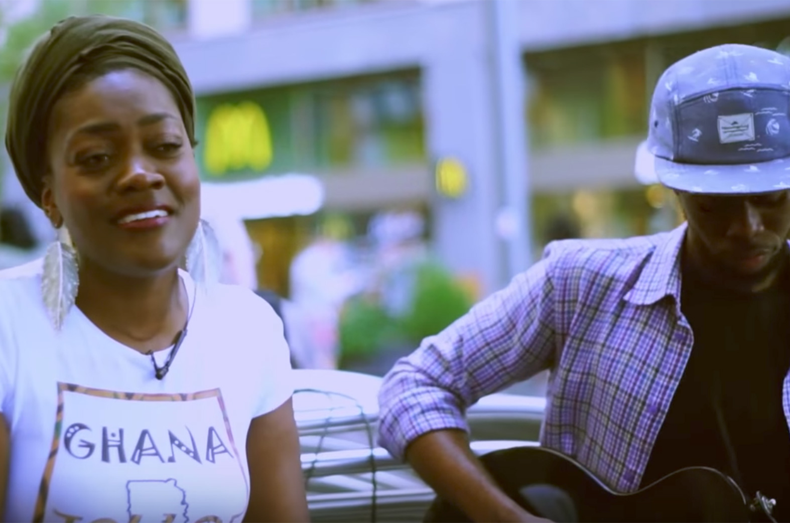 Soulful version of Fall (Davido cover) by MS.ABA feat. Kyekyeku & Nii Teii