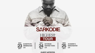 Photo of Sarkodie releases Highest UK tour dates