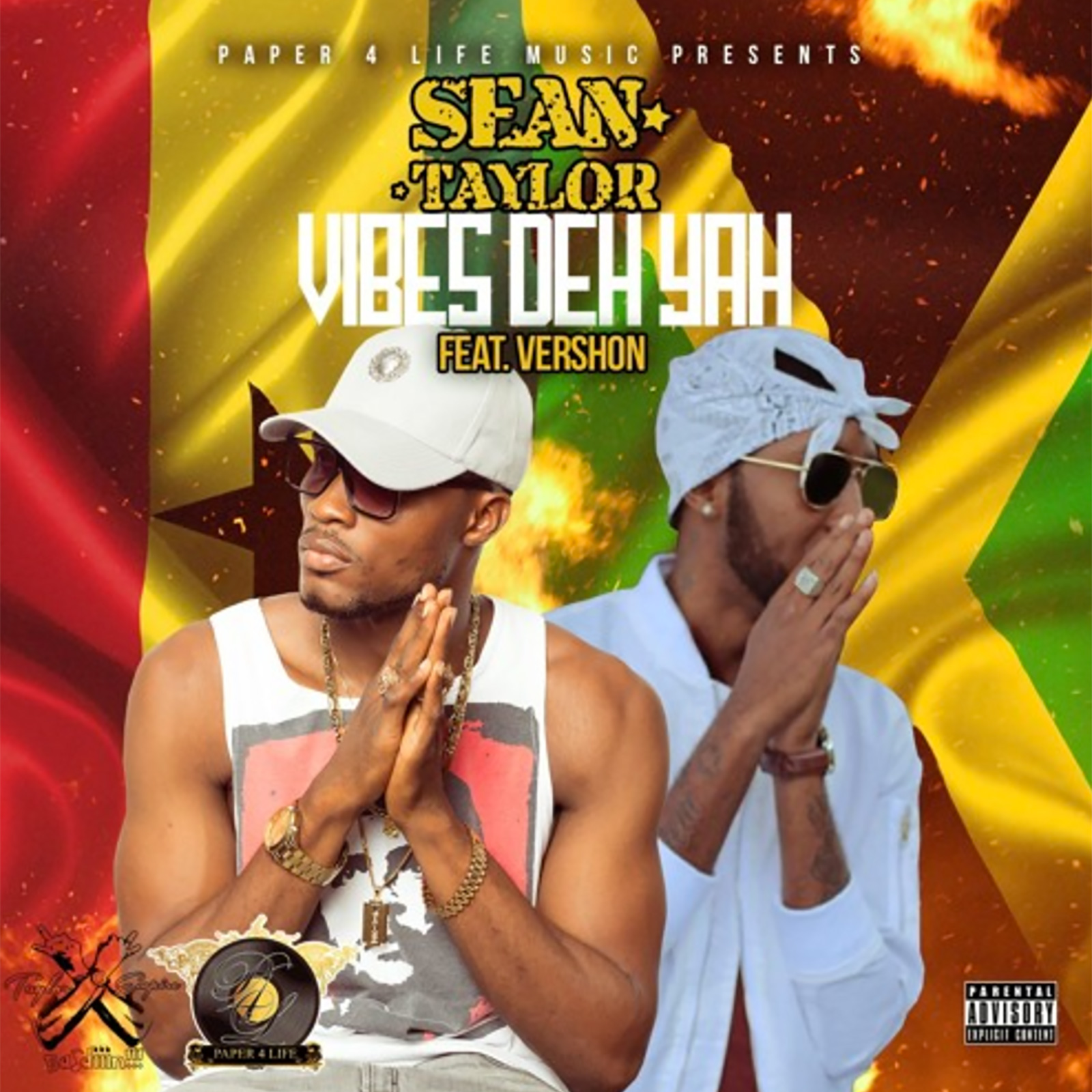 Vibes Deh Yah by Sean Taylor feat. Vershon