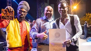 Photo of Stonebwoy receives citation for the development of Caribbean music & arts